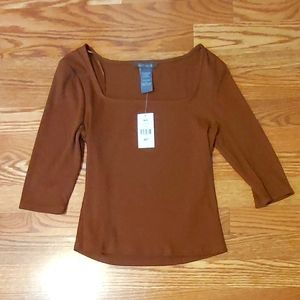 NWT Top from Suzy Shier